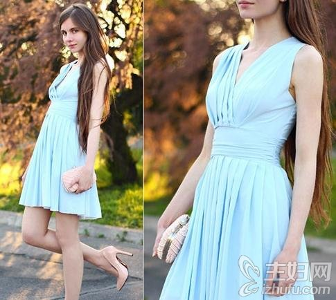 资讯生活怎么穿出女神范儿 夏季热款雪纺连衣裙推荐